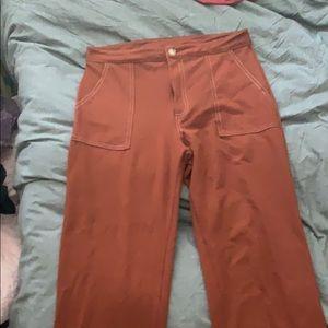 Tillys Stretchy Brown Pants